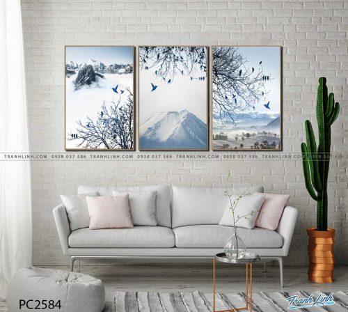 tranh canvas phong canh 2584