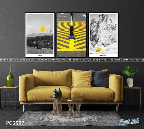tranh canvas phong canh 2587