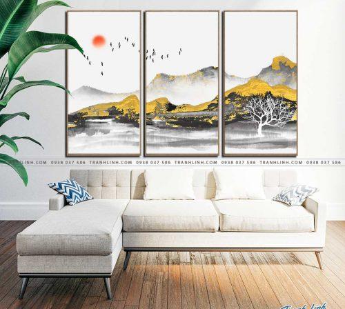 tranh canvas phong canh 2649