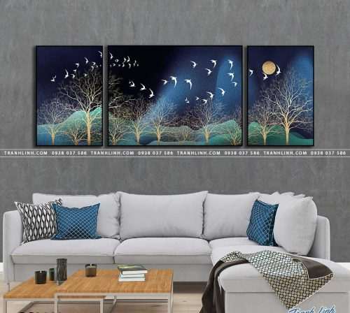 tranh canvas phong canh 2666