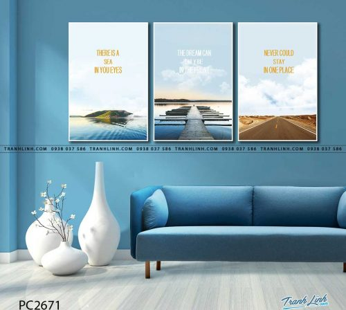 tranh canvas phong canh 2671