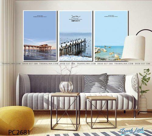tranh canvas phong canh 2681