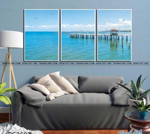 tranh canvas phong canh 2682