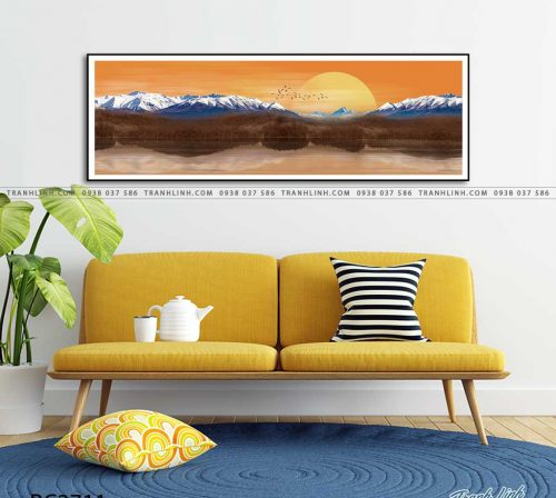 tranh canvas phong canh 2711
