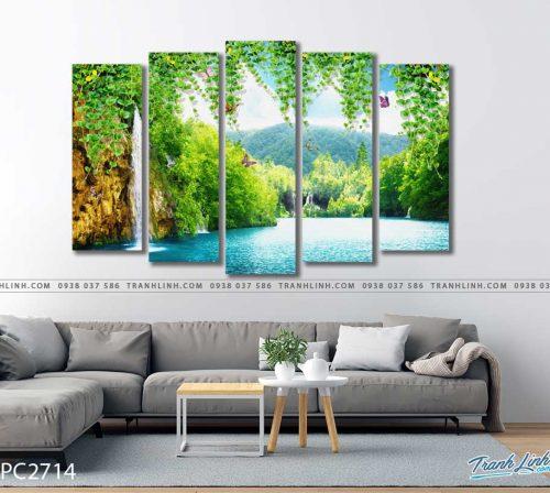 tranh canvas phong canh 2714