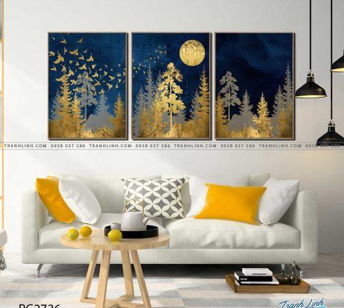 tranh canvas phong canh 2736