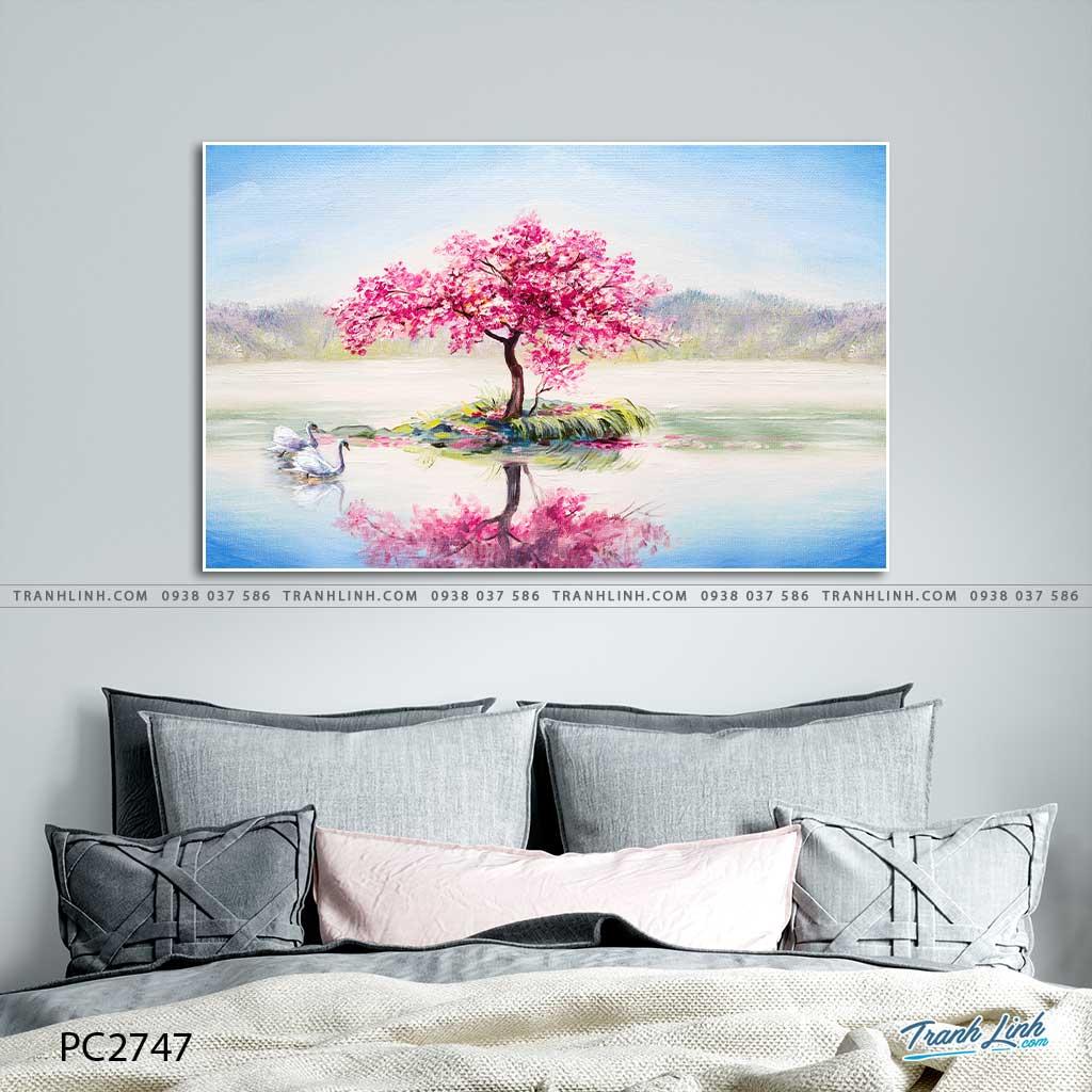 tranh canvas phong canh 2747