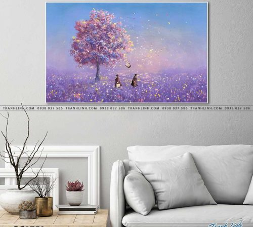 tranh canvas phong canh 2750