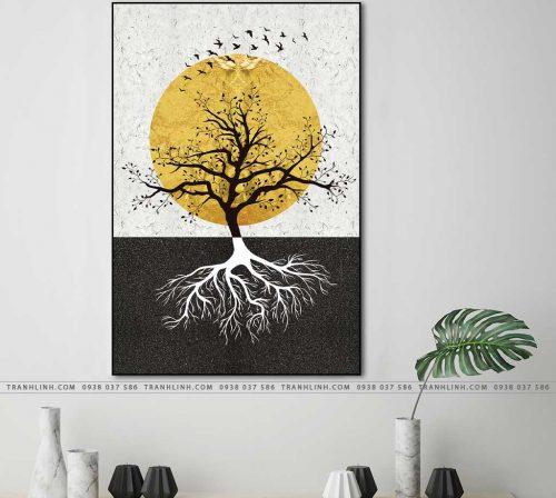 tranh canvas phong canh 2757