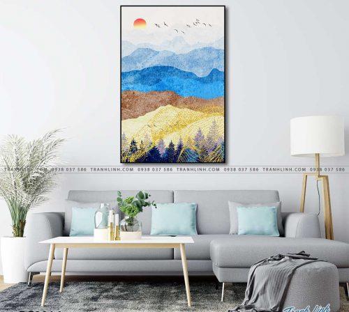tranh canvas phong canh 2816