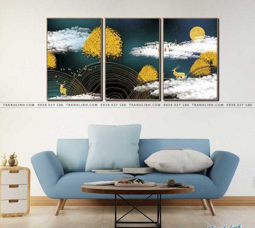 tranh canvas phong canh 2830
