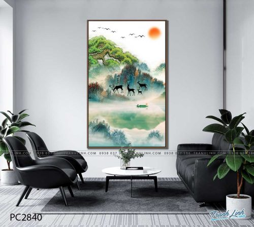 tranh canvas phong canh 2840