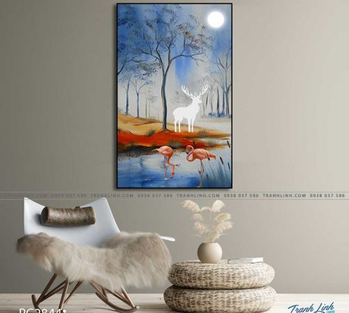 tranh canvas phong canh 2844