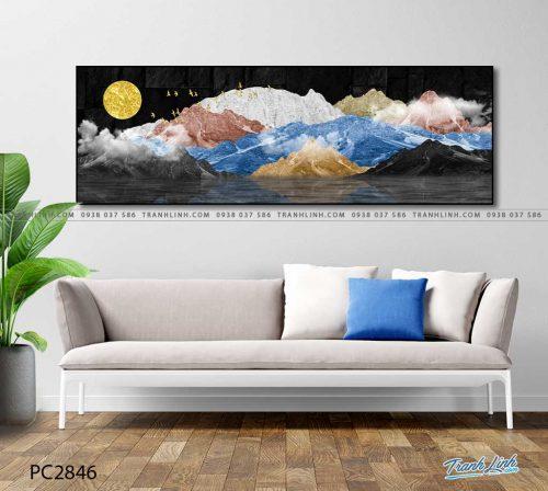 tranh canvas phong canh 2846