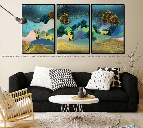 tranh canvas phong canh 2850