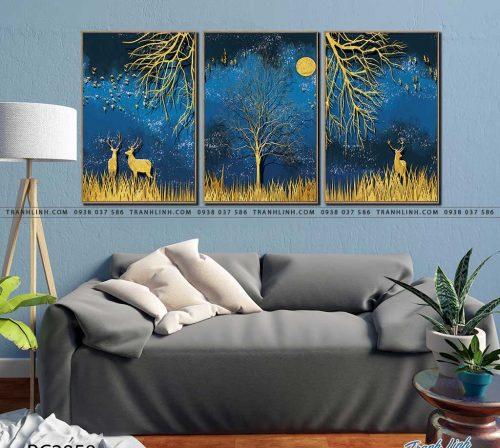 tranh canvas phong canh 2858
