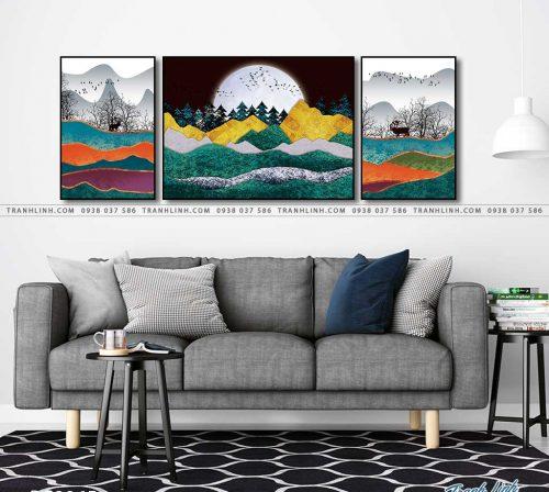 tranh canvas phong canh 2865