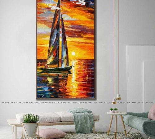 tranh canvas phong canh 2870