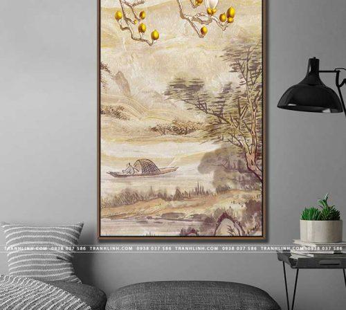 tranh canvas phong canh 2880