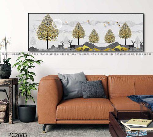 tranh canvas phong canh 2883