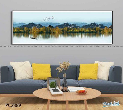 tranh canvas phong canh 2889