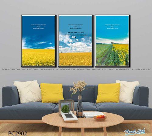 tranh canvas phong canh 2902