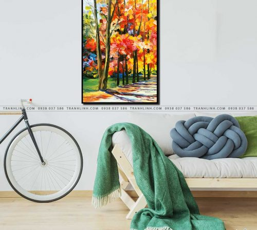 tranh canvas phong canh 2908