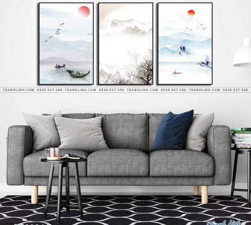 tranh canvas phong canh 2924
