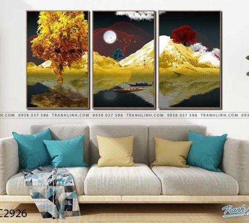 tranh canvas phong canh 2926