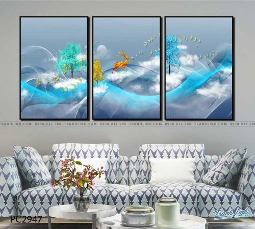 tranh canvas phong canh 2947