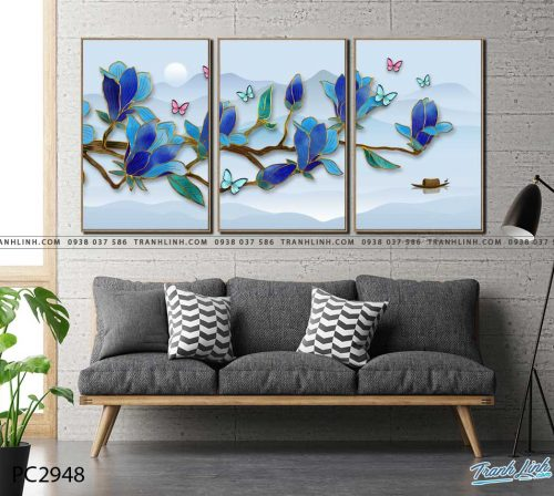 tranh canvas phong canh 2948