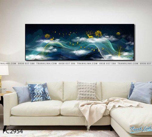 tranh canvas phong canh 2954