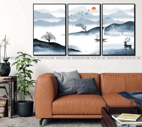 tranh canvas phong canh 2958