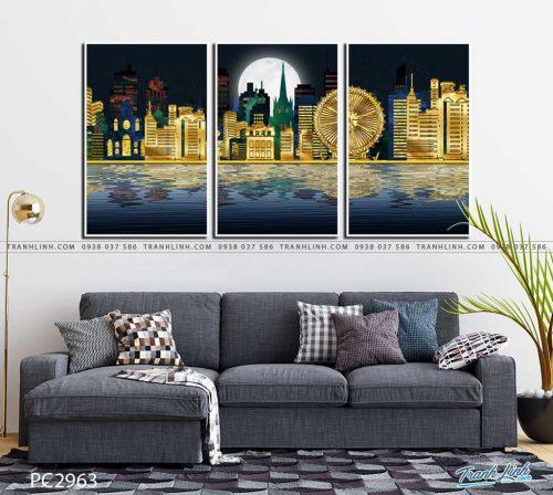 tranh canvas phong canh 2963