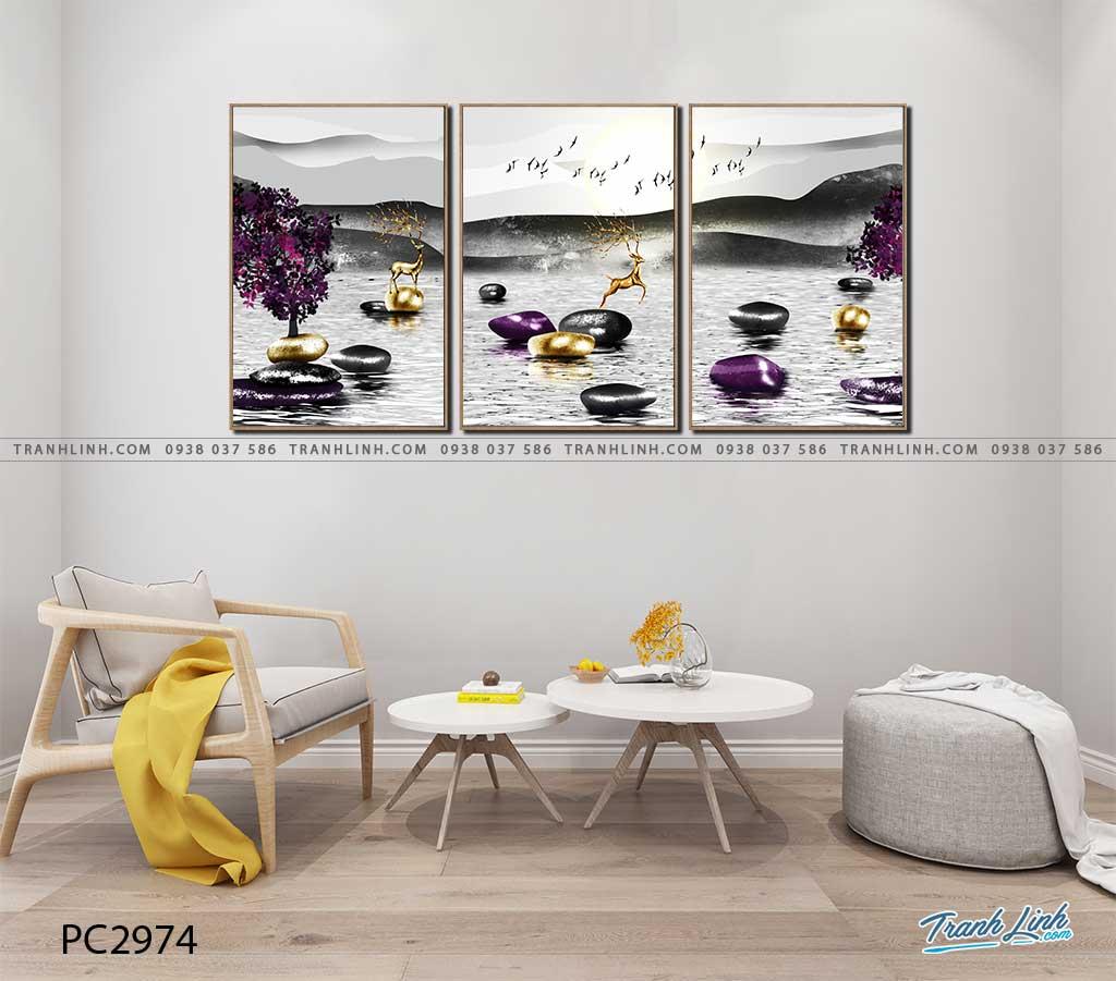 tranh canvas phong canh 2974