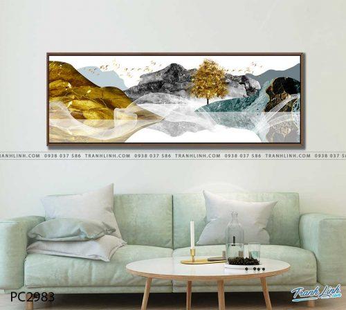 tranh canvas phong canh 2983