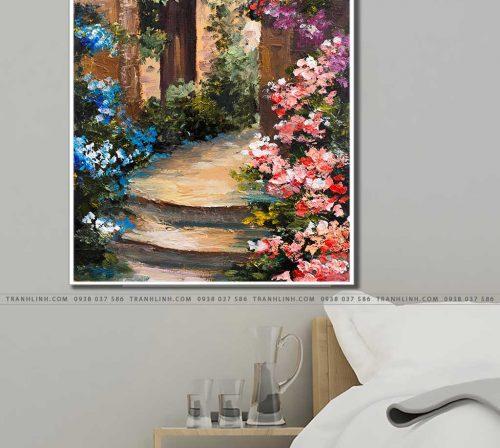 tranh canvas phong canh 2998