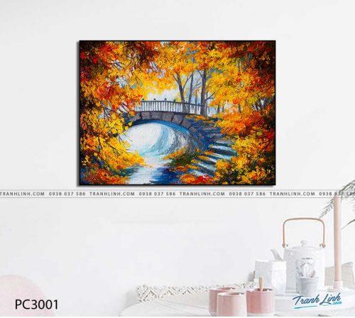 tranh canvas phong canh 3001