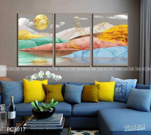 tranh canvas phong canh 3017