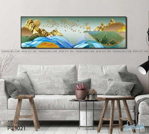 tranh canvas phong canh 3021
