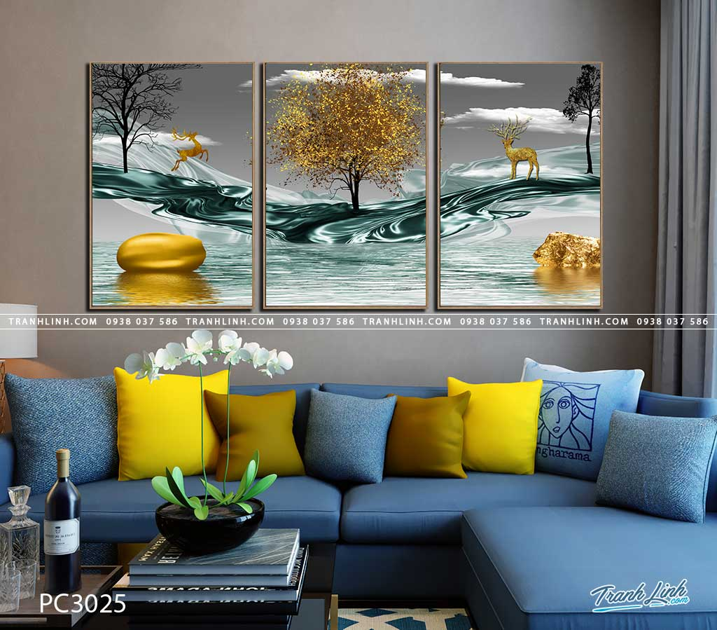 tranh canvas phong canh 3025