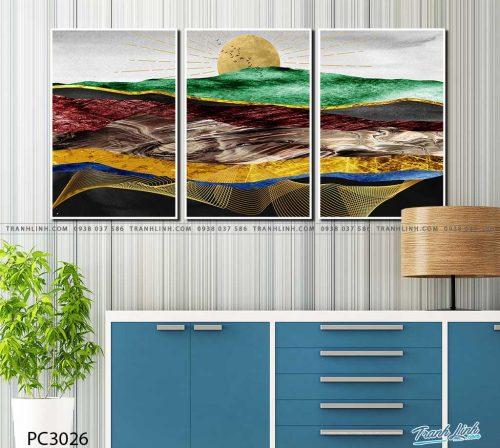 tranh canvas phong canh 3026