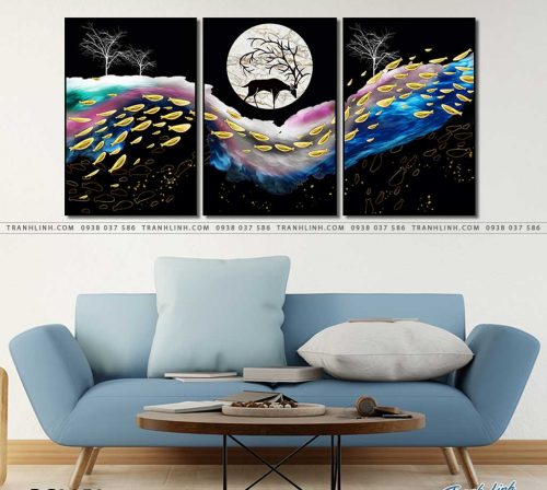tranh canvas phong canh 3058