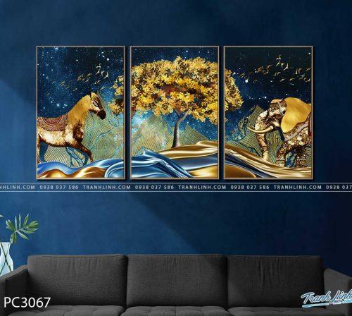 tranh canvas phong canh 3067
