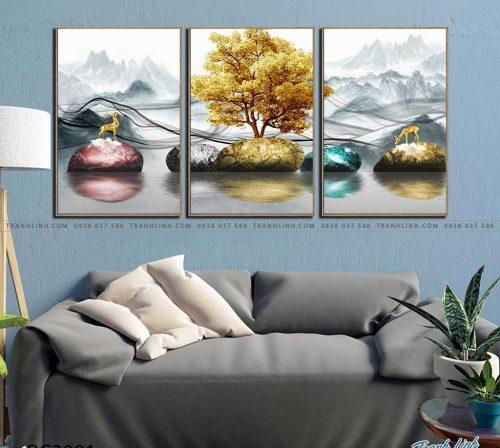 tranh canvas phong canh 3081