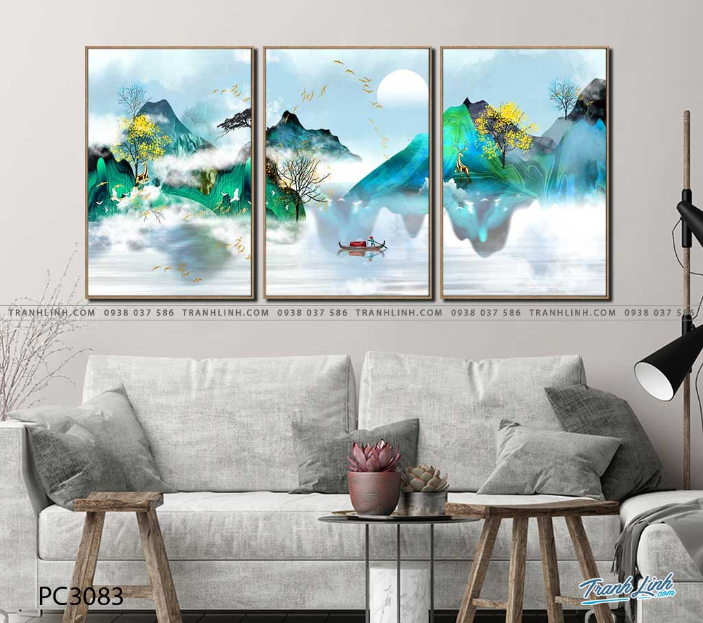 tranh canvas phong canh 3083