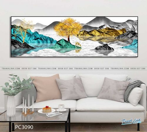tranh canvas phong canh 3090