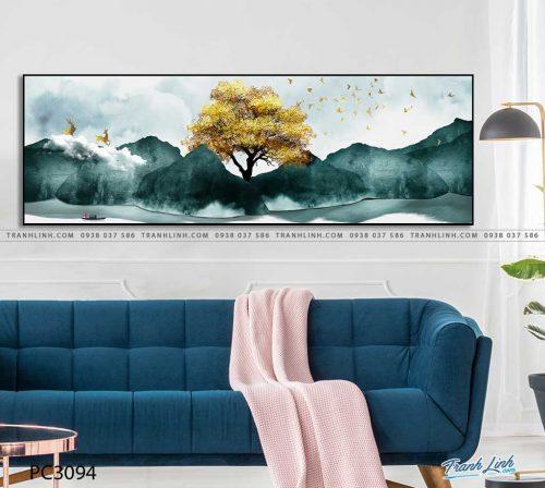tranh canvas phong canh 3094
