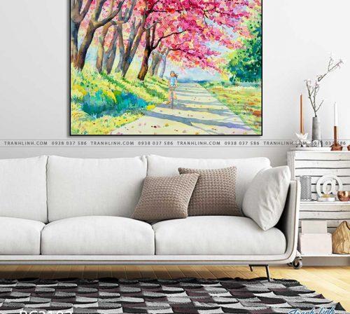 tranh canvas phong canh 3102