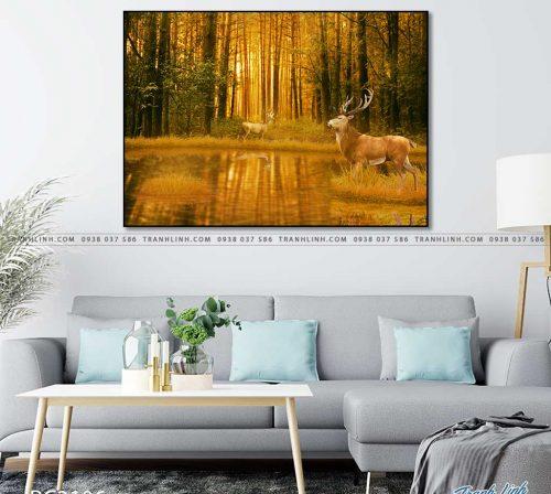 tranh canvas phong canh 3106